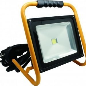 LED Valonheitin BASIC 50W musta jalustalla 4500K