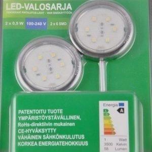 LED Valosarja 2x6 SMD 2x0.5 W 68 lm 6000-6500K