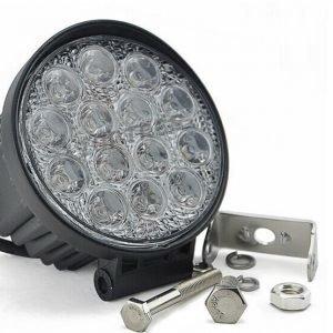 LED ajoneuvotyövalo 42W 2800lm pyöreä 12/24V