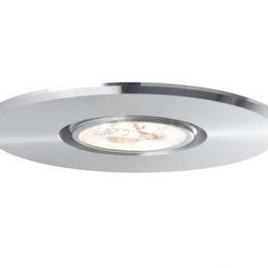 LED-alasvalo DecoSystems Premium Basic Ø 95 mm 1x3 W 3000 K alumiini