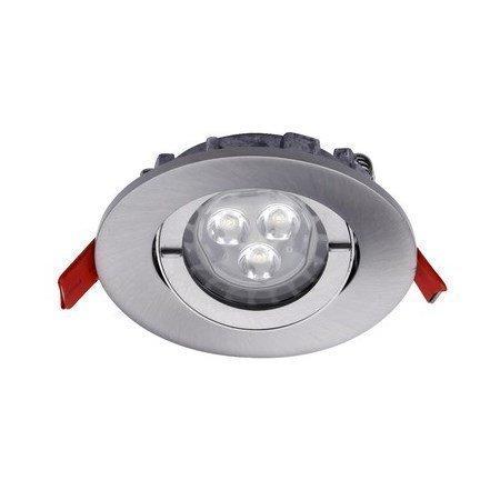 LED-alasvalo Inset Trend Swing RefLED+ GU10 7