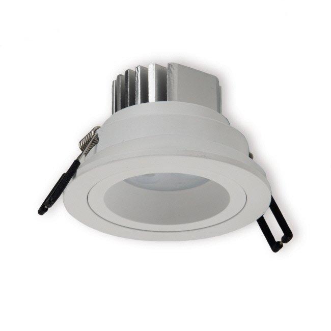 LED-alasvalo Interno 3x3W 4000K 60° IP54 Ø 92x61 mm valkoinen himmennettävä