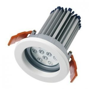 LED-alasvalo LEDVANCE Downlight M 830 L36 valkoinen