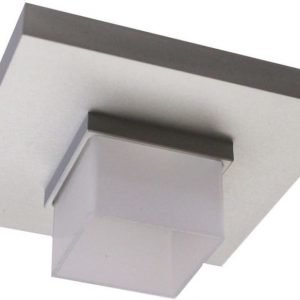 LED-alasvalo Loiste SQ 24 7W 24V IP44 3000K 328 lm 80x80x32 mm hopea