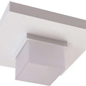 LED-alasvalo Loiste SQ 24 7W 24V IP44 3000K 328 lm 80x80x32 mm valkoinen