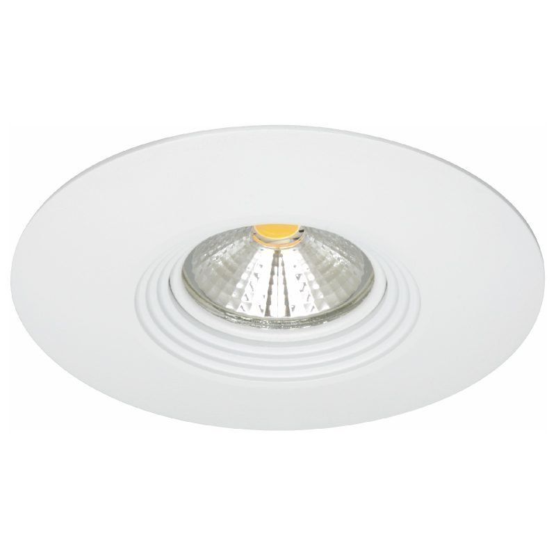LED-alasvalo MD-150 IP44 60° 9W 230V Ø 110x70 mm 3000K 532lm valkoinen