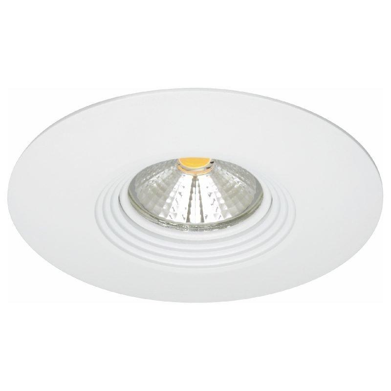 LED-alasvalo MD-150 IP44 60° 9W 230V Ø 110x70 mm 3000K 532lm valkoinen