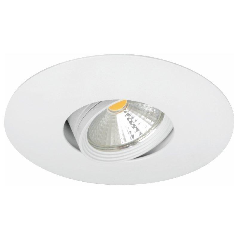 LED-alasvalo MD-151 IP44 60° 8W 230V Ø 110x70 mm 3000K 515lm suunnattava valkoinen