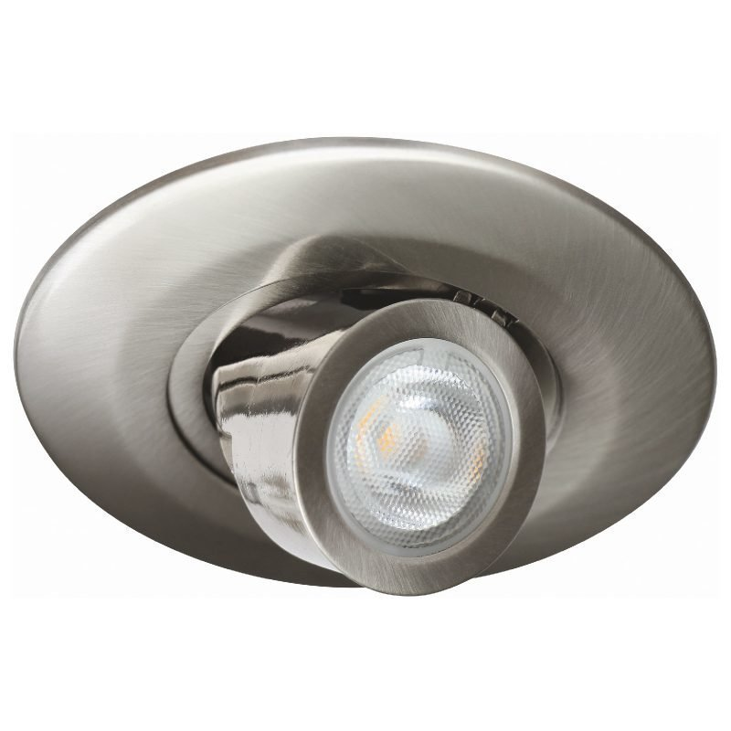 LED-alasvalo MD-760 IP21 35° 5W 10V Ø 88x43 mm 2700K 400lm suunnattava satiini