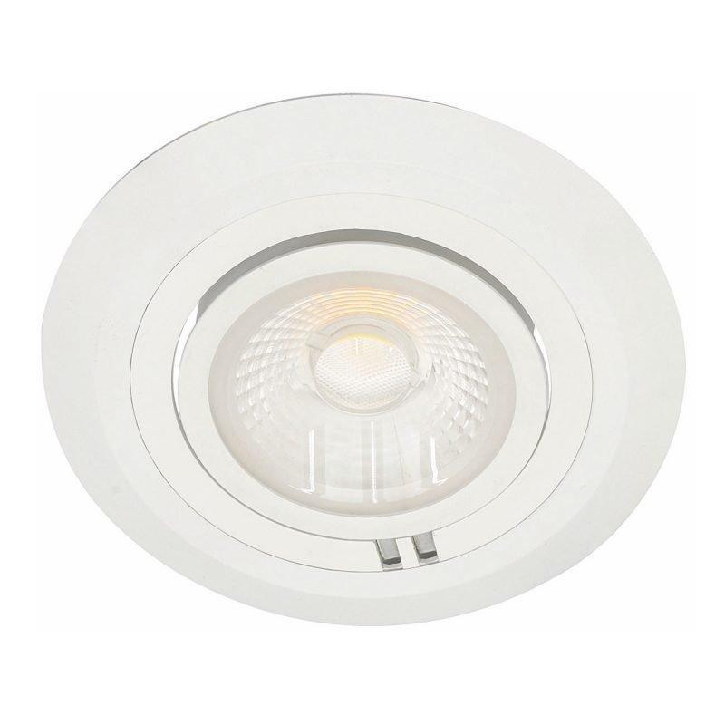 LED-alasvalo MD-780 IP21 35° 20W 36V Ø 150x96 mm 2700K 1600lm suunnattava valkoinen