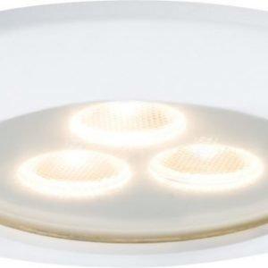 LED-alasvalo Premium Line 1x7.5 W IP65 Ø 100 mm mattavalkoinen