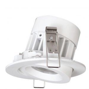 LED-alasvalo Siena 8W 4000K 36° DIM 500 lm Ø 80x55 mm valkoinen suunnattava