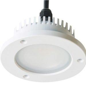 LED-alasvalo Slim IP65 20W 4000K 1030 lm Ø 195x77 mm valkoinen