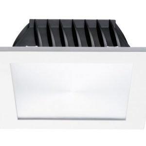 LED-alasvalo Syl-Lighter 170 LED Square 12W 3000K 874lm IP44 170x170x46 mm himmennettävä valkoinen