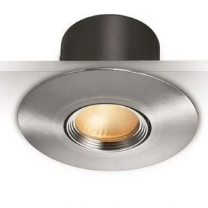 LED alasvalo TUNE suunnattava 8W Satiini IP44