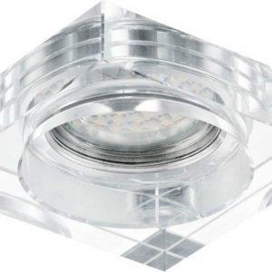 LED-alasvalo Tortoli 90x90x21 mm kromi/kirkas