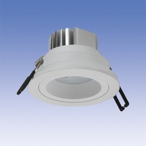 LED-alasvalo Velox LS3X3D IP54 3x3W LED 4K 60° VA Ø 64x60 mm valkoinen