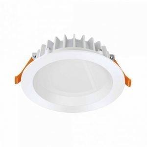 LED-alasvalosetti Punctoled IP65 2X5.5W WT 3000K 330lm Ø 80x35 mm valkoinen 2 kpl