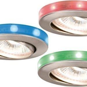 LED-alasvalosetti Starry Sky RGB Ø 83 mm 3 kpl suunnattava