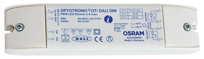 LED-himmenninyksikkö DALI 120W IP20 172x42x20 mm