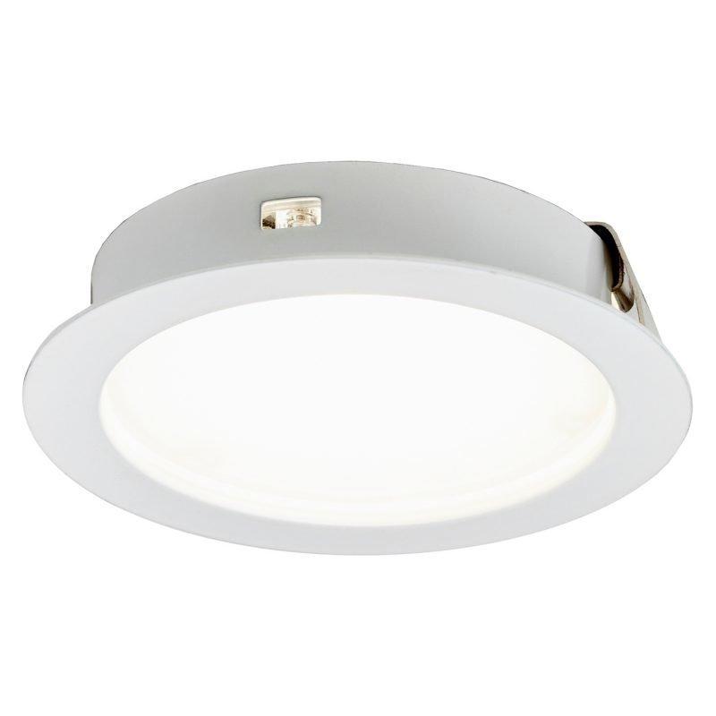LED-kalustevalaisin Limente Led-52 4 W 4000 K Ø 67x16 mm valkoinen