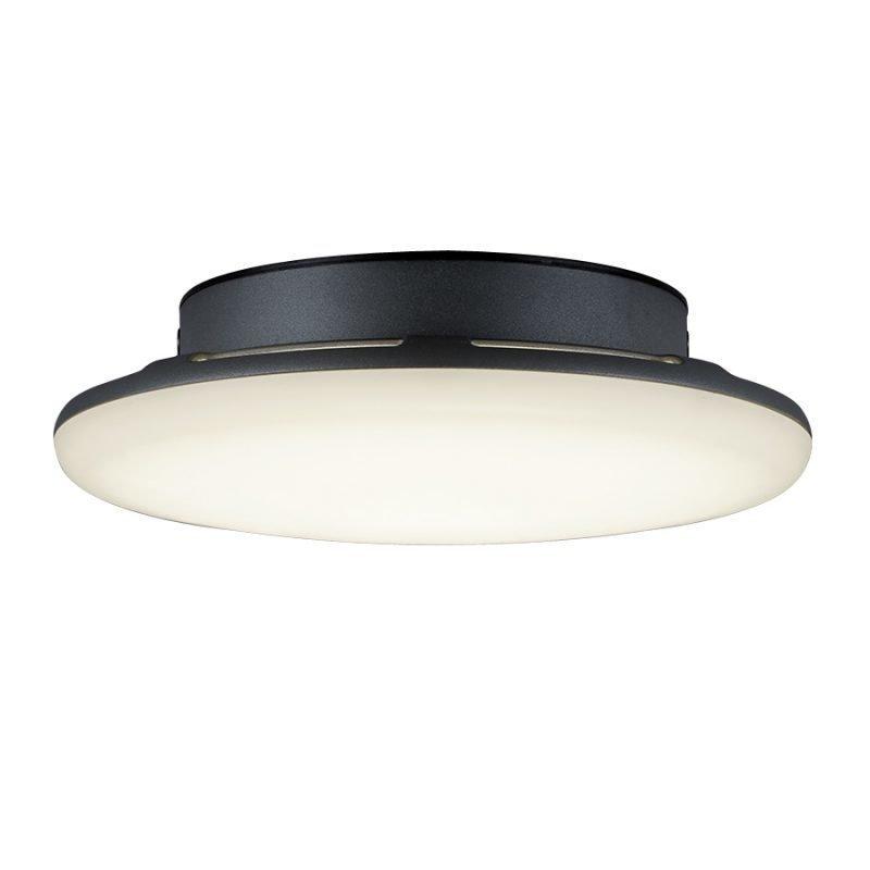 LED-katto-/seinävalaisin Bering Ø 200x55 mm antrasiitti