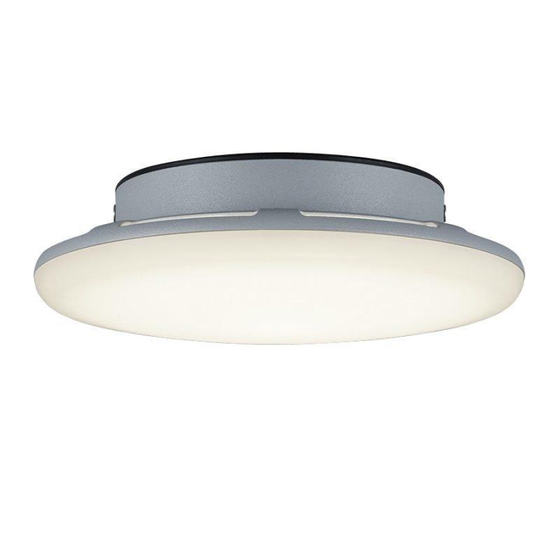LED-katto-/seinävalaisin Bering Ø 200x55 mm titaani