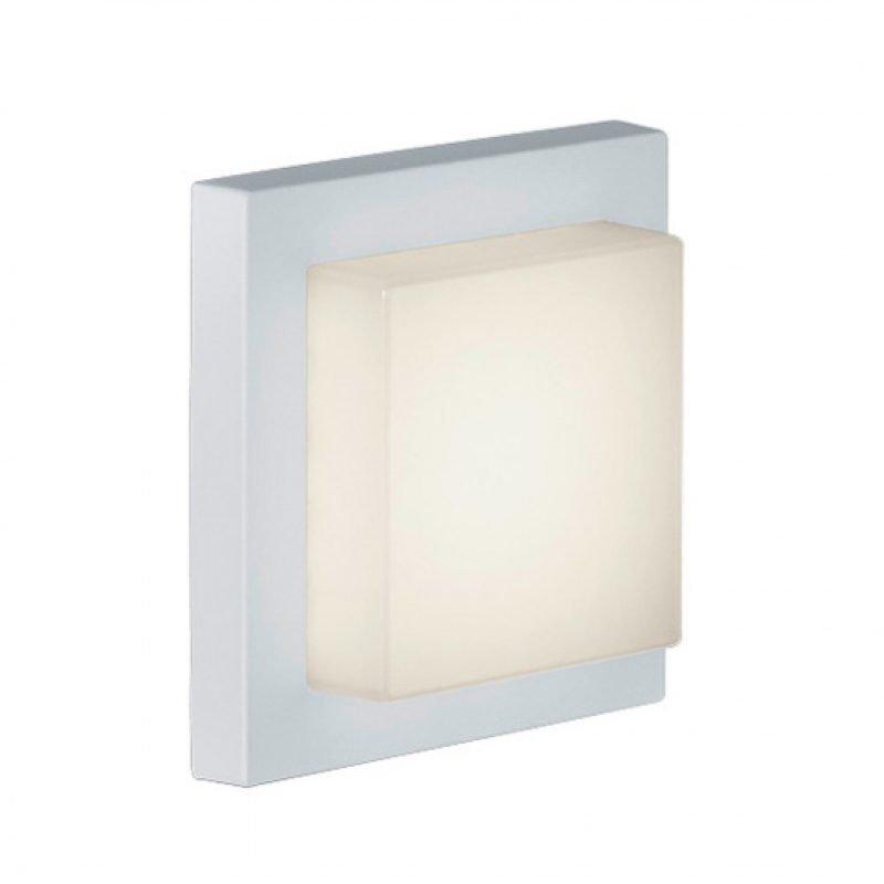 LED-katto-/seinävalaisin Hondo 140x140x65 mm valkoinen
