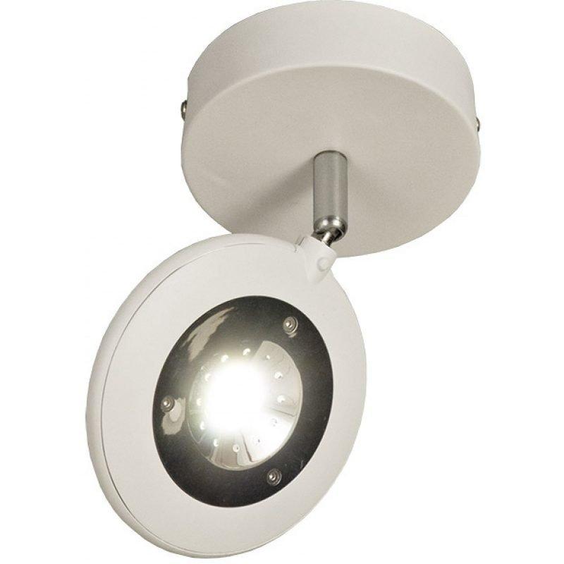 LED-kattospotti Aneta Moto Ø 110x190 mm valkoinen