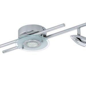 LED-kattospotti Cerbero 140x1065 mm 5-osainen kromi valkoinen 93116