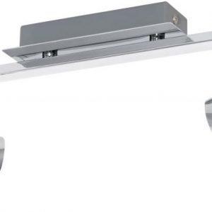 LED-kattospotti Corbera 2x3W 2-osainen kromi