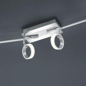 LED-kattospotti Corland 4-osainen 810x110x140 mm kromi