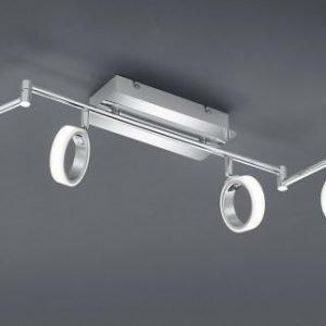 LED-kattospotti Corland 6-osainen 1500x110x140 mm kromi