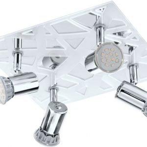LED-kattospotti Daven 1 240x260 mm 4-osainen kromi