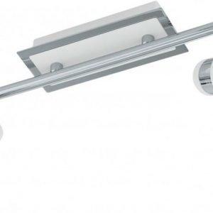 LED-kattospotti Davida 390x70 mm 2-osainen valkoinen/kromi