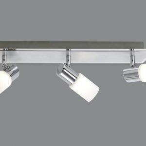 LED-kattospotti Emilia 500x70x185 mm 3-osainen harjattu alumiini