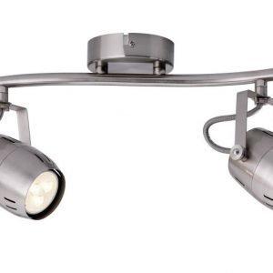 LED-kattospotti Gamma 350x90x180 mm 2-osainen harjattu teräs