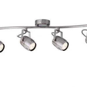 LED-kattospotti Gamma 690x90x180 mm 4-osainen harjattu teräs