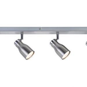 LED-kattospotti Meli 600x160x55 mm 4-osainen harjattu teräs