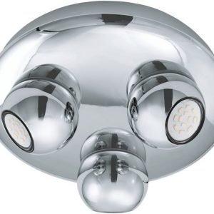 LED-kattospotti Norbello 2 Ø 270x100 mm 3-osainen kromi