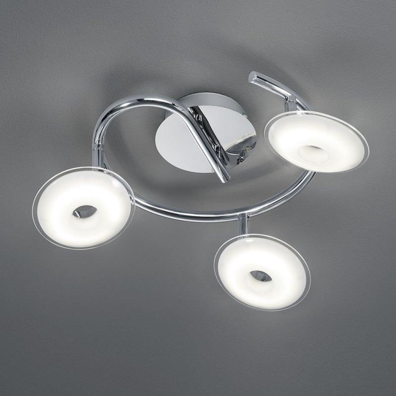 LED-kattospotti Pilatus Ø 250x160 mm 3-osainen kromi