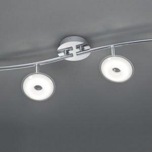 LED-kattospotti Pilatus 890x110x160 mm 4-osainen kromi