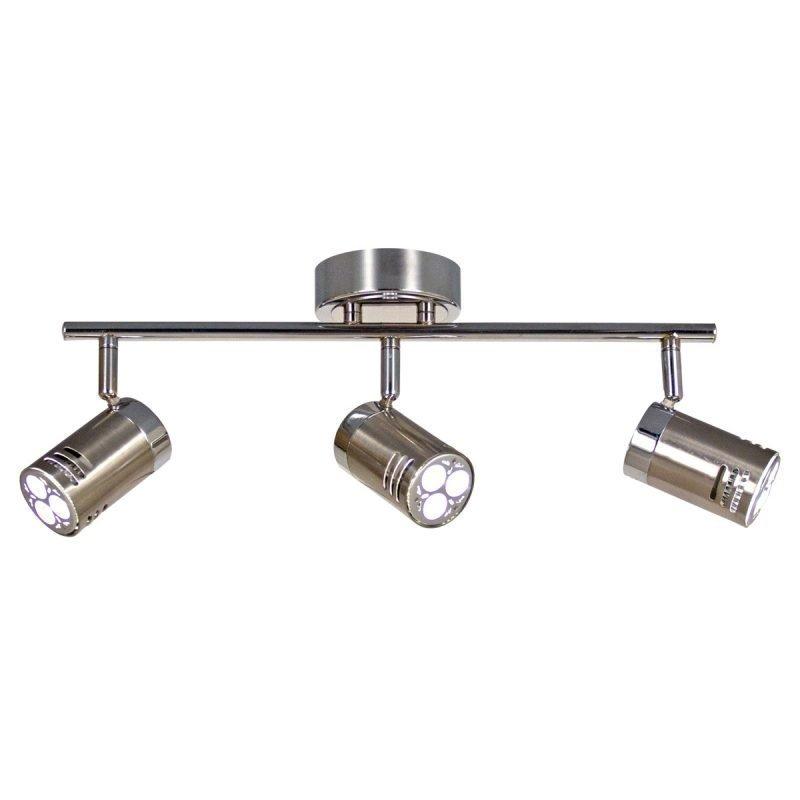 LED-kattospotti Pipe 440x180x170 mm 3-osainen teräs/kromi