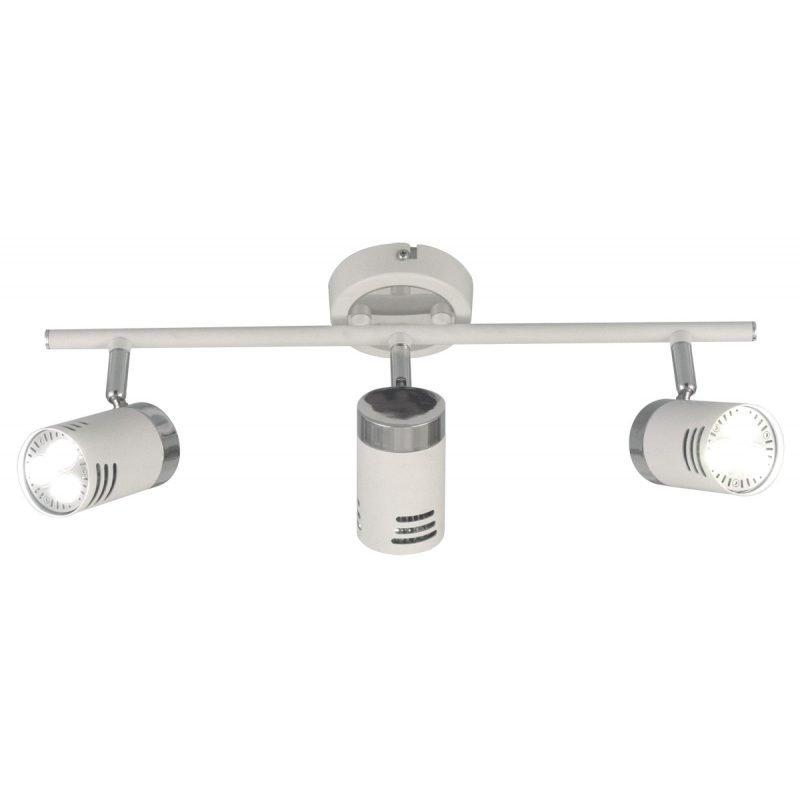 LED-kattospotti Pipe 440x180x170 mm 3-osainen valkoinen/kromi