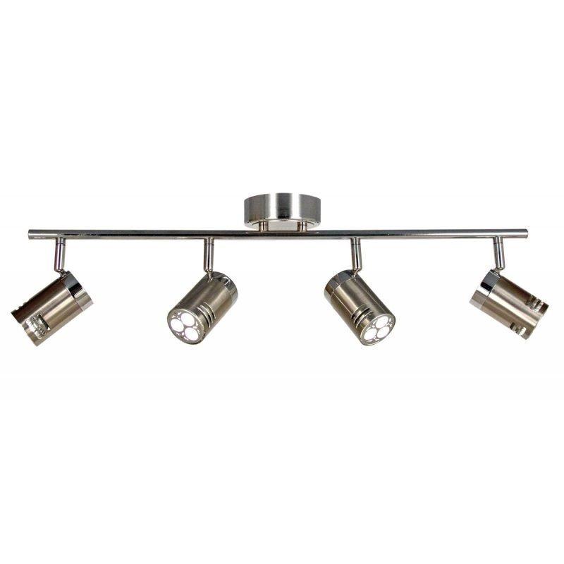 LED-kattospotti Pipe 650x180x170 mm 4-osainen teräs/kromi