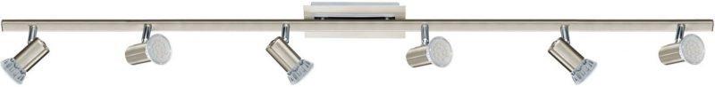 LED-kattospotti Rottelo 1160x70 mm 6-osainen kromi