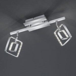 LED-kattospotti Tivoli 360x100x200 mm 2-osainen kromi