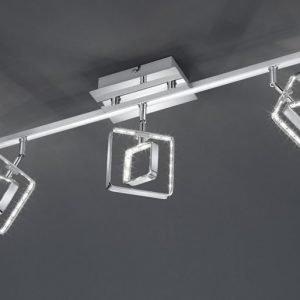 LED-kattospotti Tivoli 520x100x200 mm 3-osainen kromi