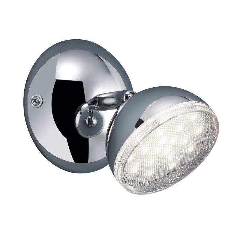 LED-kattospotti Tondo Ø 100x130 mm kromi