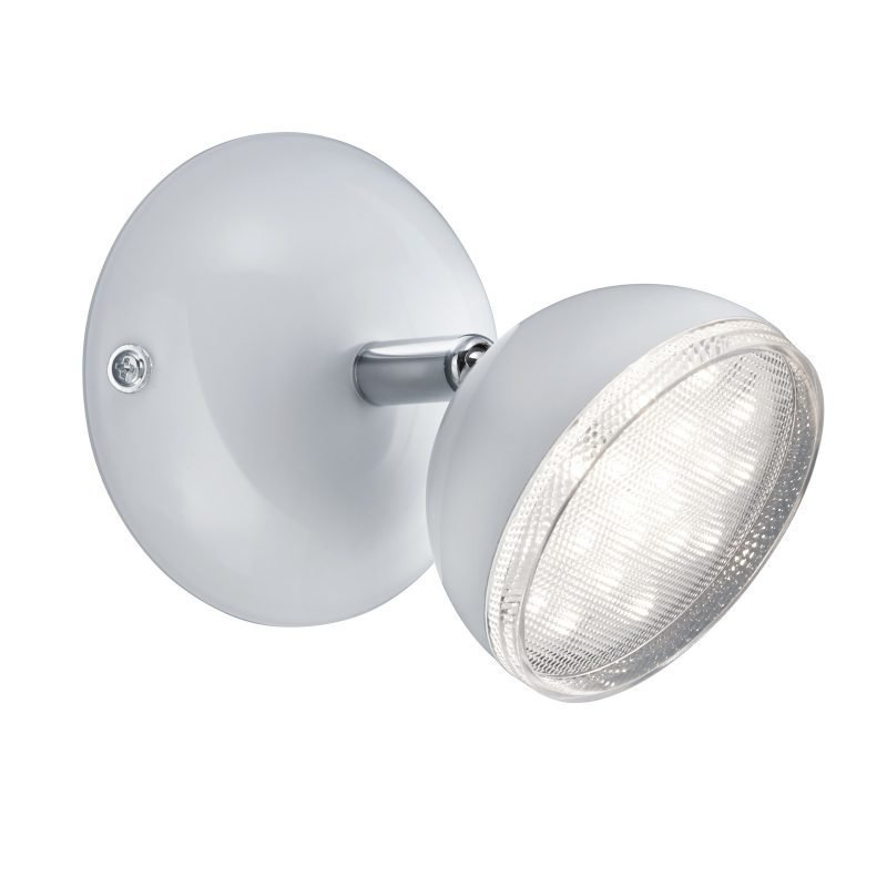 LED-kattospotti Tondo Ø 100x130 mm valkoinen